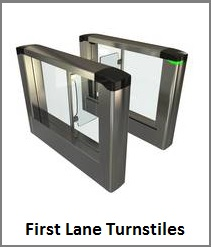 First Lane Turnstile