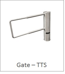 Extended swing gate Turnstile