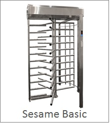 Basic Full Height Security Turnstile, perfect for prisons, gyms or stadiums