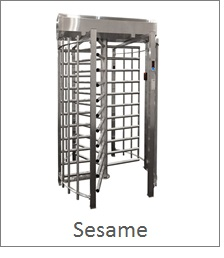 Secure Full Height Turnstile, stainless steel, ultra secure