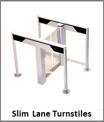 Slim Lane Turnstile