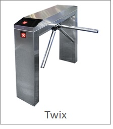 Basic tripod or twix turnstile with access control capabilities