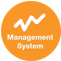 management systems icon electro